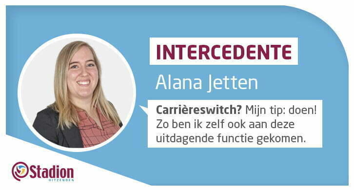 Carrièreswitch Intercedente Alana Jetten